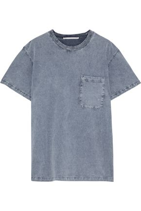 STELLA McCARTNEY 80s Wash cotton-jersey T-shirt