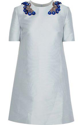 d9f1f40c6235 STELLA McCARTNEY Embellished duchesse-satin mini dress