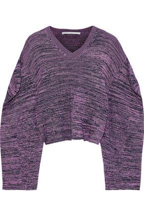 9ff55df2b2f STELLA McCARTNEY Cropped crochet cotton sweater