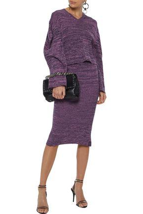 STELLA McCARTNEY Cropped crochet cotton sweater