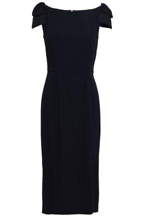 GOAT Georgina bow-detailed cady midi dress