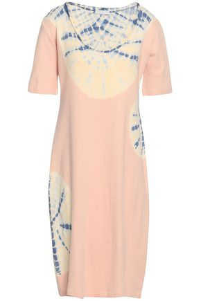 KAIN Tie-dyed cotton-jersey dress