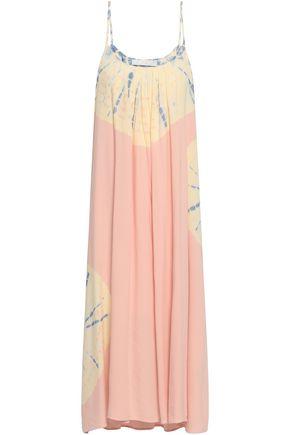 KAIN Tied-dyed woven midi dress