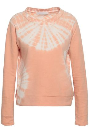 KAIN Tie-dyed cotton-fleece sweatshirt