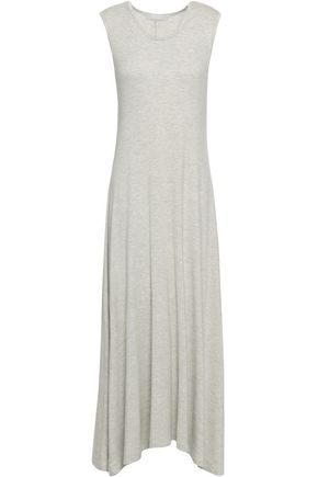 KAIN Tie-dyed cotton and modal-blend jersey midi dress