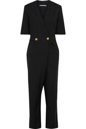 STELLA McCARTNEY Cecilia double-breasted wool and mohair-blend jumpsuit