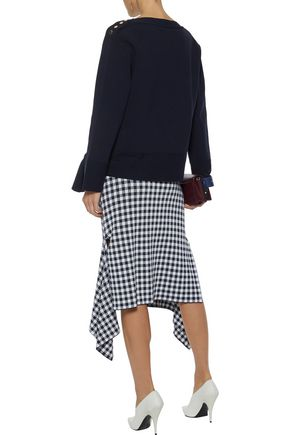 STELLA McCARTNEY Bow-detailed cotton sweater
