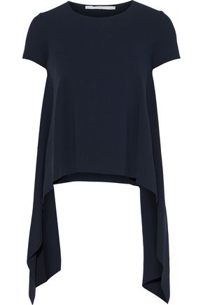 STELLA McCARTNEY Draped stretch-knit T-shirt