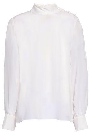 GOAT Silk crepe de chine blouse