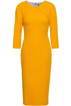 VICTORIA BECKHAM Wool and silk-blend dress