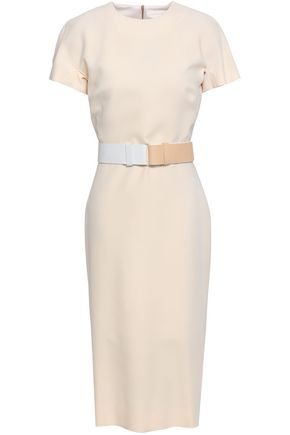 VICTORIA BECKHAM Silk and wool-blend crepe dress