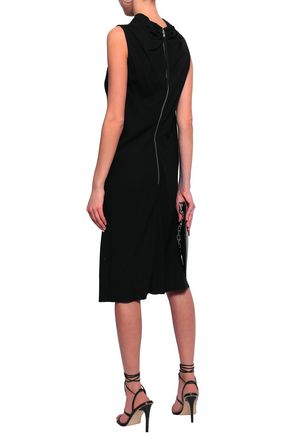 RICK OWENS Bonnie draped crepe dress