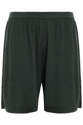 RICK OWENS Cashmere-blend shorts