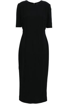 GIORGIO ARMANI Silk-cady midi dress