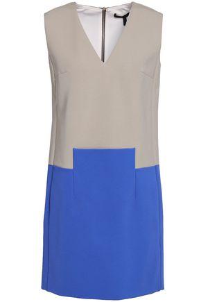 VICTORIA BECKHAM Two-tone ponte mini dress