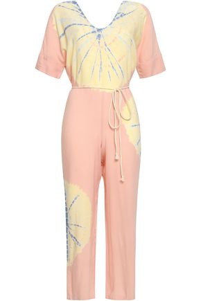 KAIN Belted woven jumpsuit