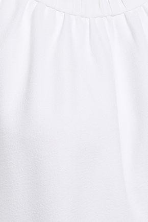 TIBI Gathered crepe dress