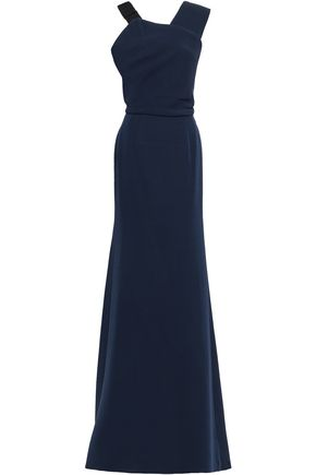 VICTORIA BECKHAM Wool and silk-blend gown