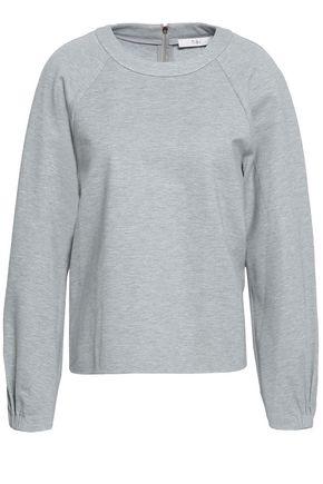 TIBI Mélange jersey sweatshirt
