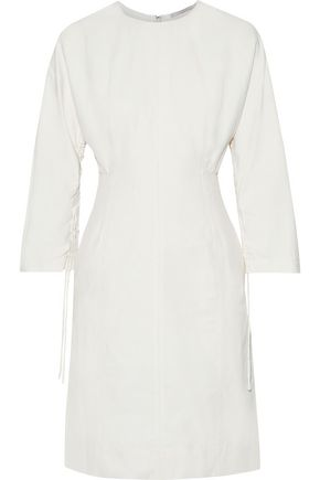 STELLA McCARTNEY Cocoon gathered twill dress