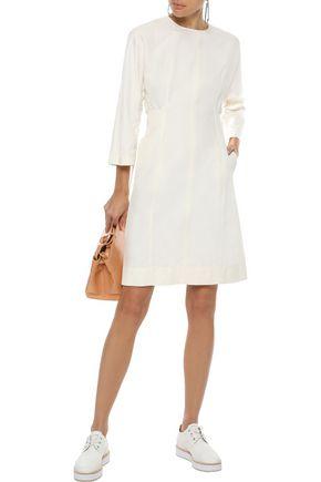 STELLA McCARTNEY Cocoon gathered twill dress