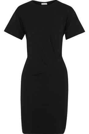 BY MALENE BIRGER Ofinol gathered ribbed-knit mini dress
