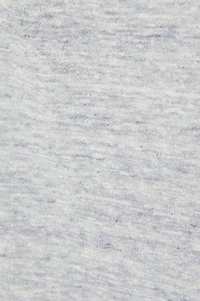 RTA Wren mélange cotton-blend jersey tank