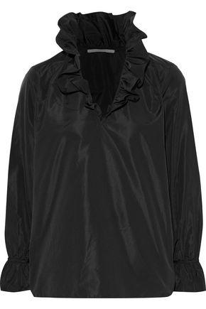 STELLA McCARTNEY Mariana ruffle-trimmed taffeta blouse