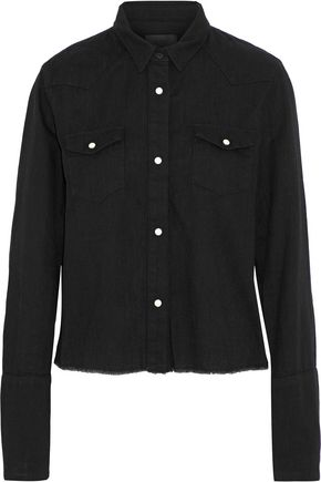 RTA Ashley denim shirt