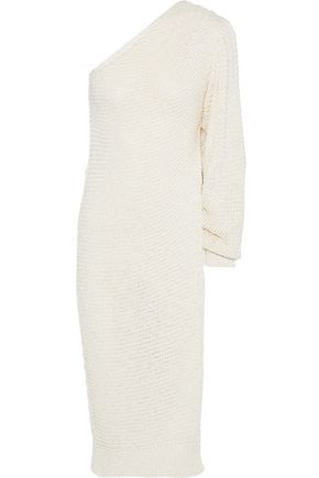 STELLA McCARTNEY One-shoulder open-knit sweater