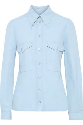 STELLA McCARTNEY Twill shirt