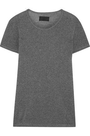 RTA Metallic stretch-knit T-shirt