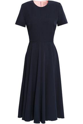 ROKSANDA Two-tone crepe midi dress