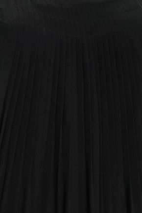 TIBI Arielle button-detailed silk jumpsuit