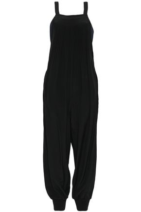 TIBI Arielle button-detailed silk jumpsuit