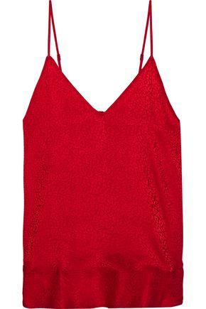 IRO Fadie silk-jacquard camisole