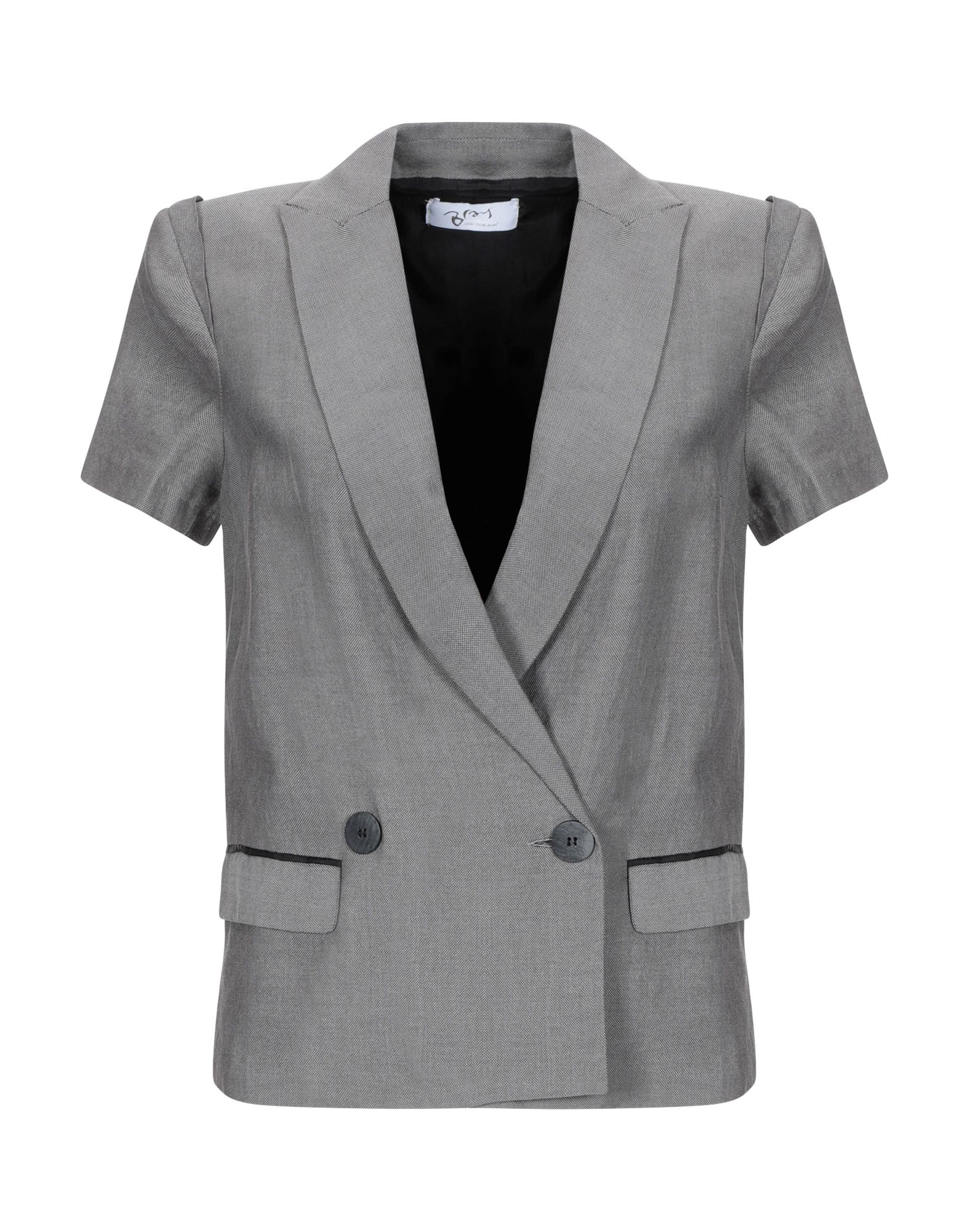 《期間限定セール中》BRAY STEVE ALAN レディース テーラードジャケット グレー XS コットン 100%