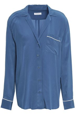 EQUIPMENT Keira washed-silk shirt