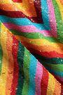 VALENTINO Sequined striped tulle mini dress