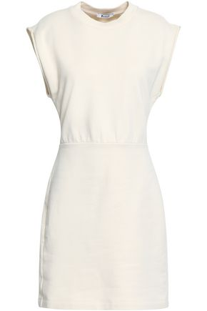 ALEXANDERWANG.T French cotton-terry mini dress