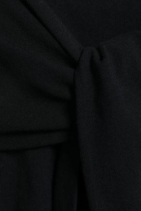 ALEXANDERWANG.T Tie-front cotton-jersey tank