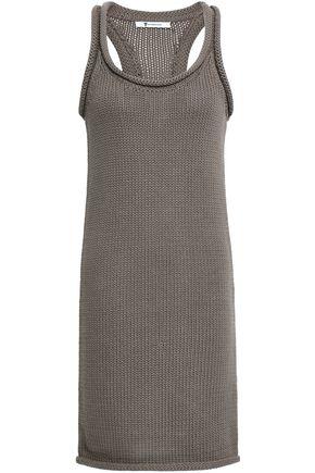 ALEXANDERWANG.T Cotton-blend mini dress