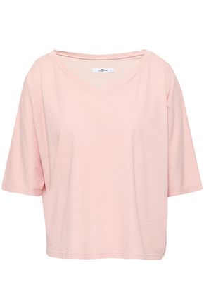 7 FOR ALL MANKIND Cotton-jersey T-shirt