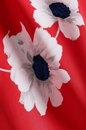 EQUIPMENT Leema floral-print silk shirt