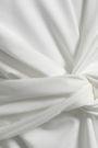 W118 by WALTER BAKER Trish twisted cotton-blend jersey mini dress