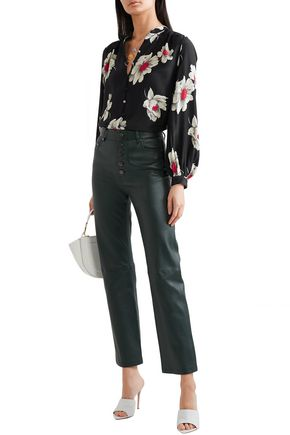 76b91fe037964 EQUIPMENT Cornelia floral-print washed-silk shirt