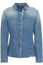 7 FOR ALL MANKIND Faded denim shirt