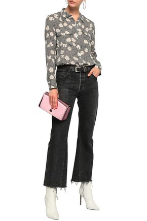 EQUIPMENT Slim Signature floral-print silk crepe de chine shirt