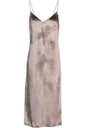 RAG & BONE Open-back velvet midi dress