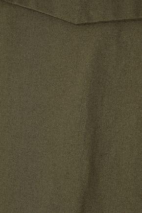 IRIS & INK Bethan cotton-twill jumpsuit